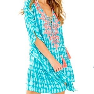 Lilly Pulitzer Tullie Coverup New With Tags L/XL